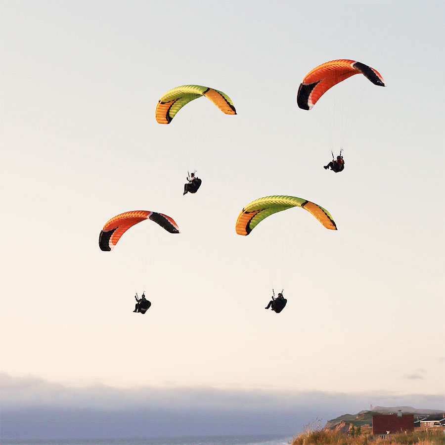 Eagle Paragliding Mission